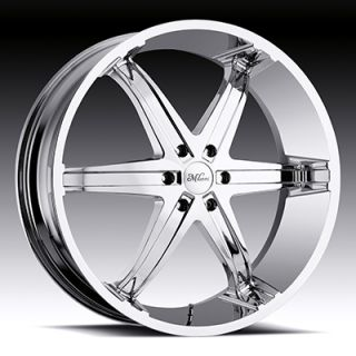 Kool Whip 6 5x135 F 150 Lightning Expedition Chrome Wheels Rims