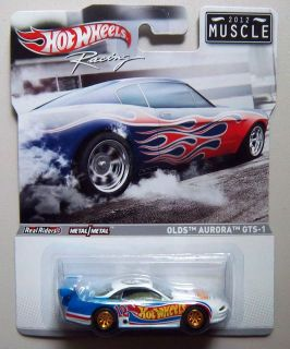 Olds Aurora GTS 1 Muscle 2012 Hot Wheels Racing Diecast Model 1 64