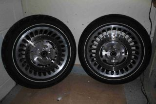2009 Harley Davidson Ultra Classic Front and Rear Wheels and Tires