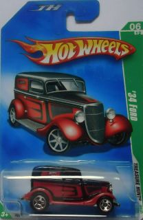 2009 Hot Wheels Treasure Hunts 34 Ford 6 12