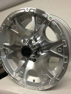 Racing Dagger Wheels Rims Jeep Wrangler 2007 2012 16x8 5x5