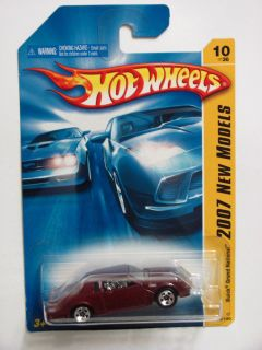 Hot Wheels 2007 10 36 Buick Grand National Red