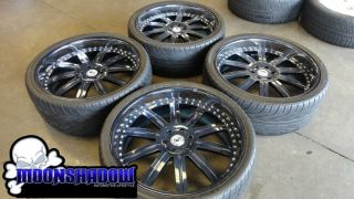 134 Custom Painted 3 Piece Wheels Rims Cadillac Escalade Denali