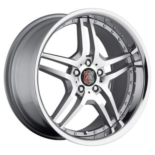 Silver Chrome Wheels Rims Fit Mercedes CLK W208 W209 1996 2009