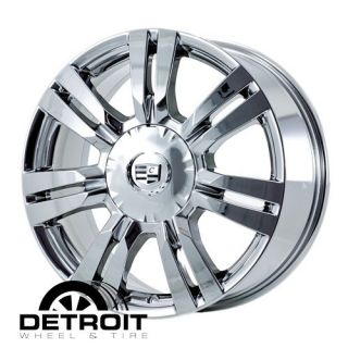 Cadillac SRX 2010 2012 PVD Bright Chrome Wheels Rims Factory 4665