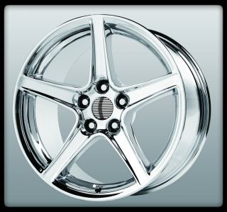 REPLICAS V1142 S TYPE CHROME SALEEN SHELBY MUSTANG GT WHEELS RIMS