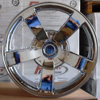 Chrome Chevy 1500 SS Silverado Tahoe Suburban Yukon Wheels Rims Set