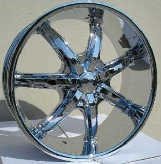 22 inch U35S Chrome Wheels Rims Chrysler 300C 5x115