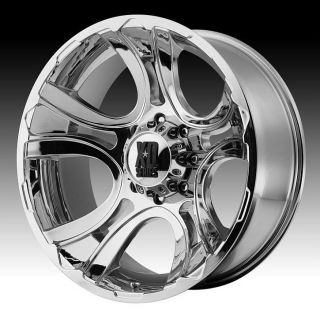 22 inch 22x11 XD Chrome Wheels Rims 5x150 Toyota Tundra Sequoia Lexus