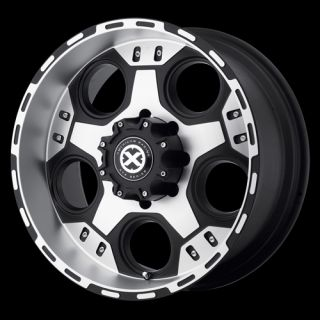 17 WHEELS RIMS ATX JUSTICE MATTE BLACK MACHINED 17 X 9 5X4 5 EXPLORER