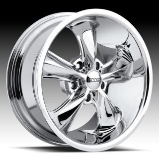 17 x 9 FOOSE Legend F105 Mustang Wrangler Lincoln Chrome Wheels Rims