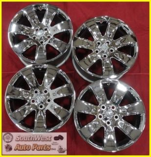 10 11 12 Buick Lacrosse Allure Regal 18 Chrome Wheels Used Rims Set