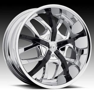 18 VCT Romano Chrome Rims 4x100 4x4 5 18 inch Wheels