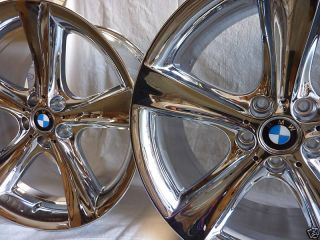 20 BMW 5 Series 7 Series Chrome Wheels Rims Set