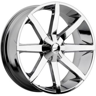 26 inch KMC Slide Chrome Wheels Rims 6x5 5 6x139 7 Frontier Pathfinder