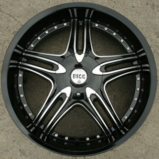 22 Black Rims Wheels Impala Malibu Grand Prix 22 x 8 5 5H 35