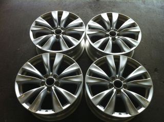 INFINITI M37 18 09 10 11 12 OEM 4 FOUR FACTORY ALLOY RIMS WHEELS 73752