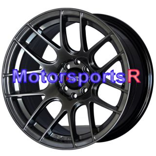 Chromium Black Concave Rims Wheels Stance 89 Nissan 240sx S13