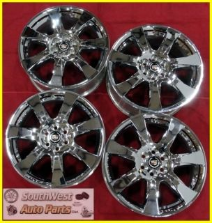 11 Cadillac SRX 20 6x120mm Chrome Clad Wheels Used Factory Set Rims
