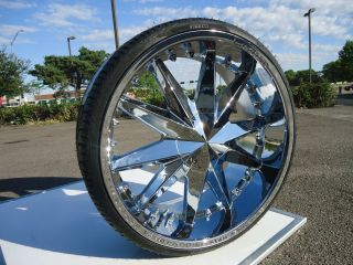 23 Limited 275 Chrome Wheels Rims 5x115 5x114 3 5x4 5 5x120 5x4 75