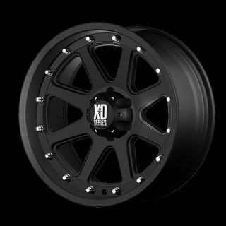 Addict XD Series Black Offroad 17x9 0 Truck Wheels Rims Set