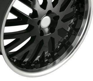 22Land Rover Black Machined Face Wheels Rims Fit Range Rover Sport