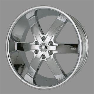 55 Chrome Wheels Rims Tire Escalade Tahoe Yukon Navigator Silverado 24