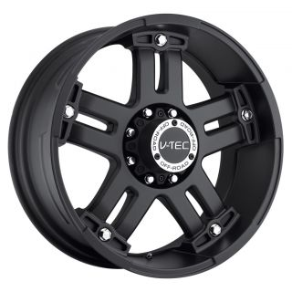 Warlord Black Wheels Rims 5x135 25 97 03 Ford F150 Expedition