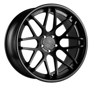 Vertini Magic 20x8 5 Wheels 5x112 Rims Et 25mm Matte Black