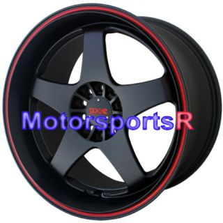 XXR 962 Black Staggered Rims Wheels 87 88 90 91 Toyota Supra Turbo