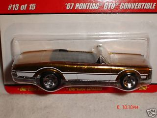 1967 Pontiac GTO Convertible Hot Wheels Classics Series