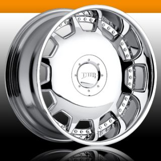 Mogul 6 Lug 6x5 5 Chrome One Single 25 Replacement Wheel Rim