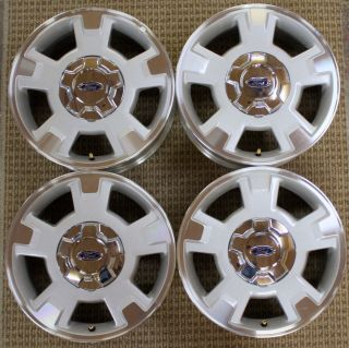 New Take Off Ford F 150 OEM 17 Aluminum Wheels Rims Center Caps Lugs