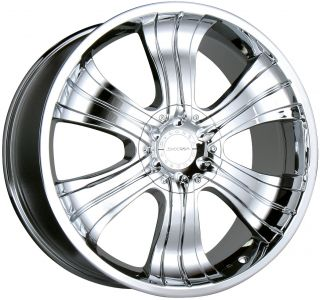 22 Chrome Wheels Rims Chevy Silverado Tahoe Avalanche Suburban 1500