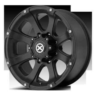 ATX LEDGE TEFLON BLACK ASTRO EXPRESS MONTERO WHEELS RIMS 6X5 5 16 INCH