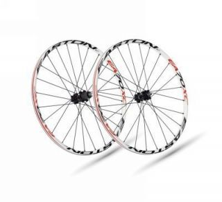2011 Easton EA70 XC 29 Mountain Bike Wheels White Rims