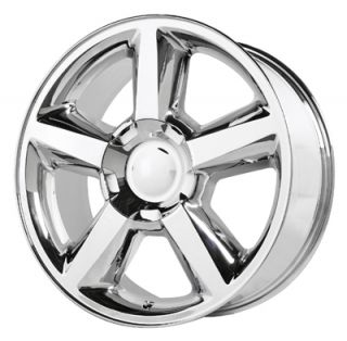 22 Chevy GMC Truck SUV 6LUG Chrome LTZ Wheels New 31mm