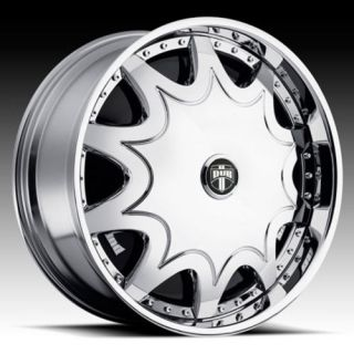 26 Dub Stashola Spinner Chrome Wheel Set