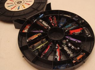 Vintage Mattel Hot Wheels Redline Lot Collection of 23 Cars Wheel Case