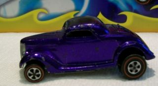 Hot Wheels Redline Purple 36 Ford Coupe