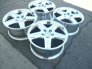 17 Acura TL Wheels Rims New Chrome Set Honda Accord Civic Factory