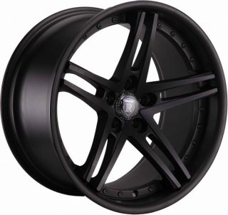 20 Rohana RC5 Matte Black Wheels Rims Fits Infiniti MDX 01 06 G35 G37
