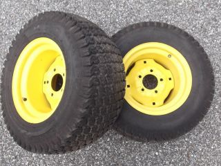 John Deere 240 245 260 265 285 Rear Rims and Tires