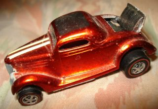 1969 Mattel Hot Wheels Redline Classic 36 Ford Coupe Must See