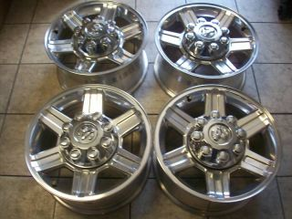 17 Dodge RAM 2500 3500 Polished Factory Wheels Rims 2012