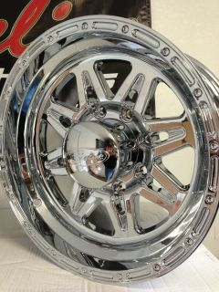 18 Inch Chrome Raceline Wheels Rims Ford F250 F350 Super Duty