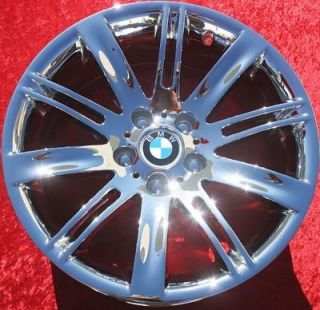 New 18 BMW 645Ci M6 650i OEM Chrome Wheels Rims 633Csi EXCHANGE 59488