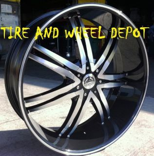22 INCH B14 MB RIMS WHEELS AND TIRES CHARGER R T SE SXT MAGNUM 300 C