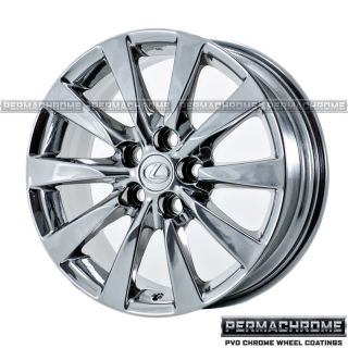 Lexus LS460 Chrome Wheels Rims 74221 Permachrome