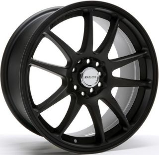 5x100 114 3 40 Black Wheel Fit Honda Civic SI Accord CR Z Rims